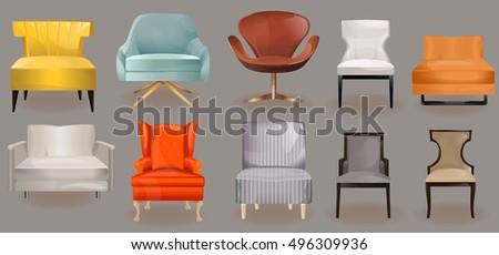 furniture iconsarmchairs  sofa