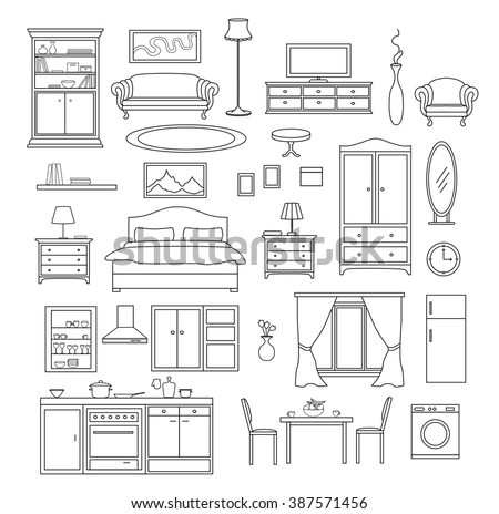 Kitchen Line Items Download Free Vector Art Stock Graphics Images