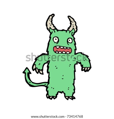 furry monster cartoon