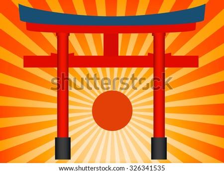 fushimi inari japan sign and