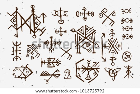 Viking Symbols Vector Download Free Vector Art Stock Graphics