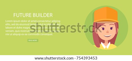 future builder young brunette