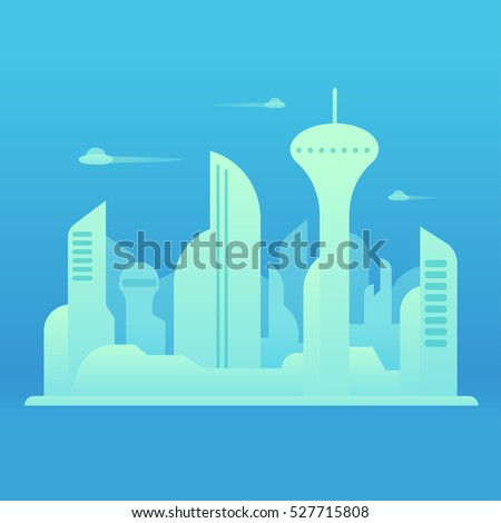 future city landscape