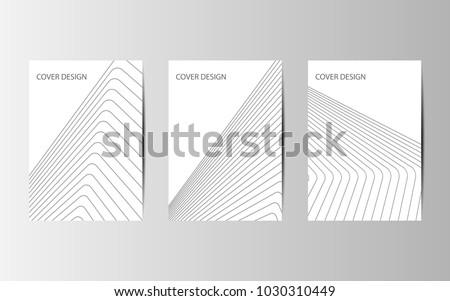 Stock Photo Future Poster template. Minimal Vector covers design.