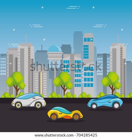futuristic and modern car design