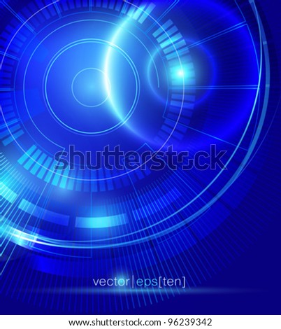 Futuristic background with neon lighting effects. Vector eps10.