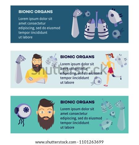 futuristic bionic prosthesis