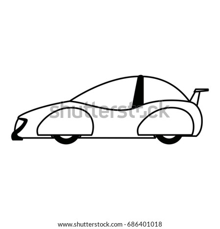 futuristic car vehicle smart