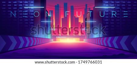 futuristic city cityscape on a
