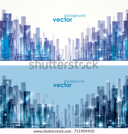 futuristic city skylines at day