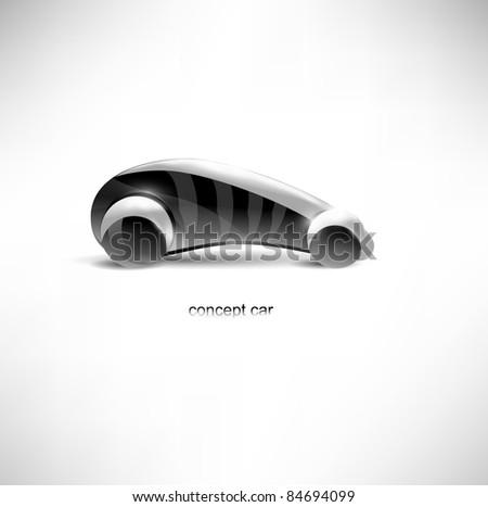 futuristic concept car
