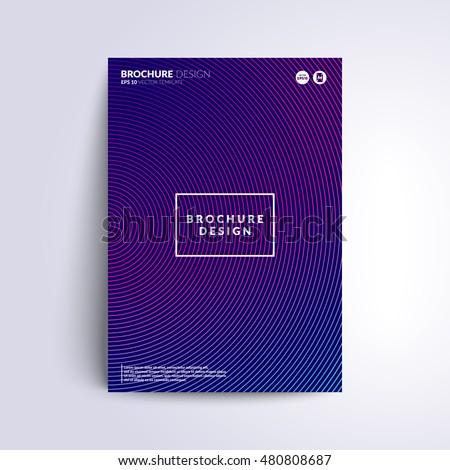 futuristic cover design circle