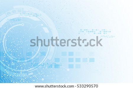 futuristic digital cyber technology concept background
