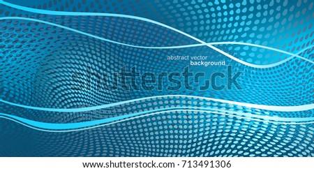 futuristic image in the color