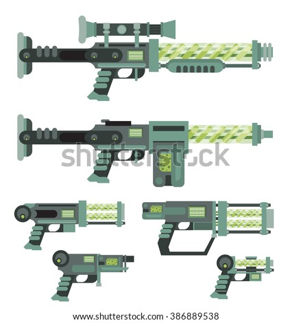 futuristic sci fi weapons