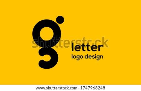 g letter logo, g letter logo design Stok fotoğraf ©