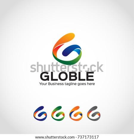 G letter logo template