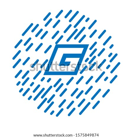 G letter logo with nice background.nice vector logo and icon.