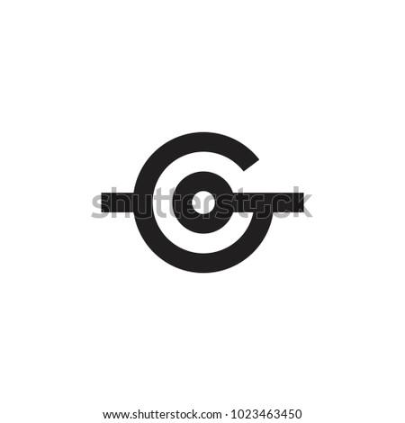 G letter target logo