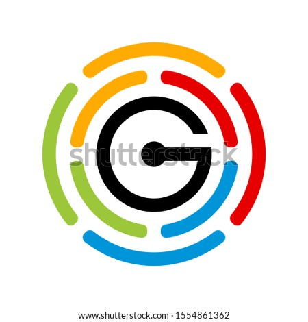 G Logo can be used for company, icon,  etc