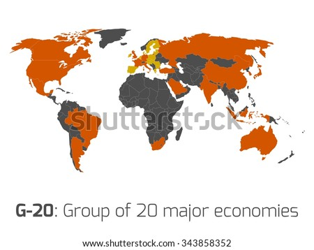 g 20 or group of major