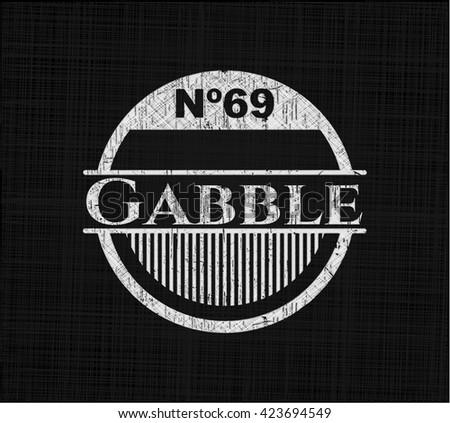 Gabble chalk emblem