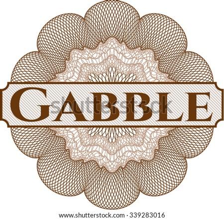 Gabble rosette