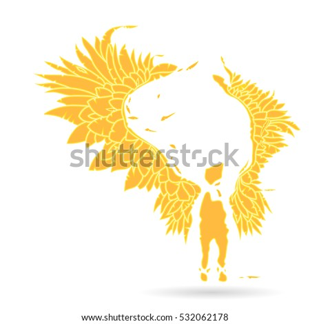 gabriel angel keeper vector