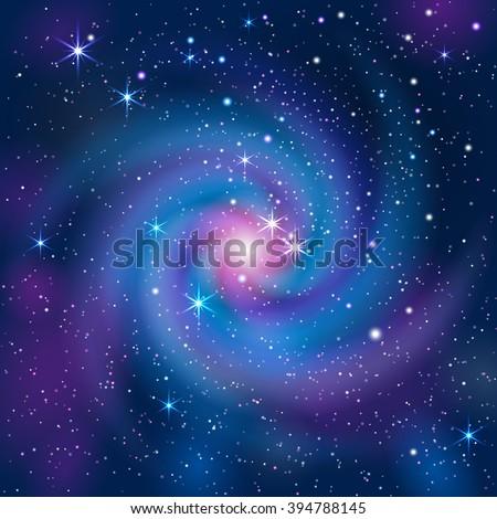 galaxy background mask was