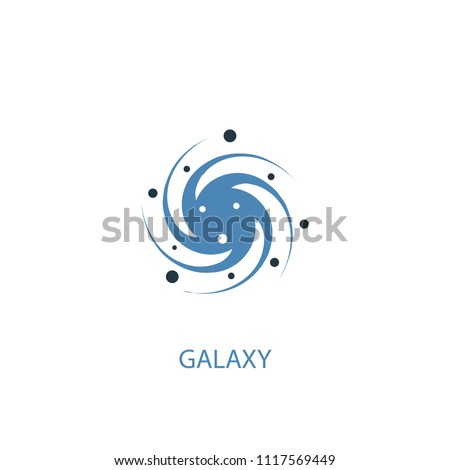 galaxy concept 2 colored icon