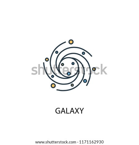 galaxy concept 2 colored line