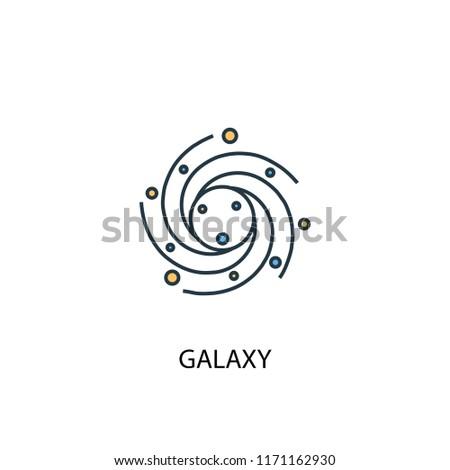 galaxy concept 2 colored line