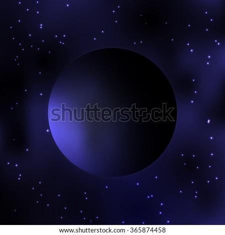 galaxy dark planet milky way