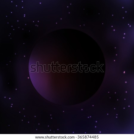 galaxy dark planet milky way