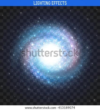 galaxy effect spiral galaxy