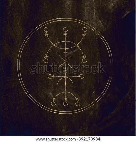 galdrastafir magic gold runic