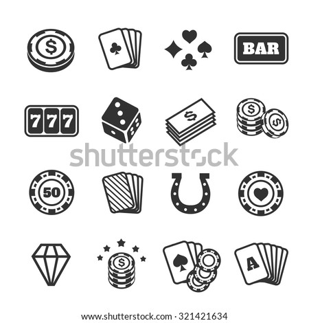 stock-vector-gambling-icons-set-card-and-casino-poker-game-dice-and-ace-vector-illustration