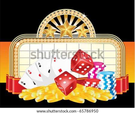 Gambling sign