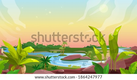 game background of cartoon
