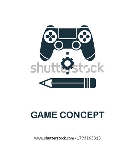 game concept icon creative