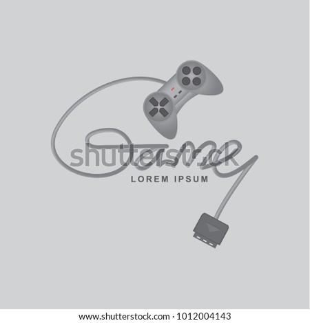 game controller vector design