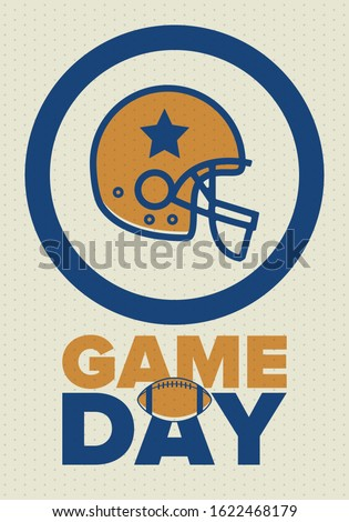 game day american football