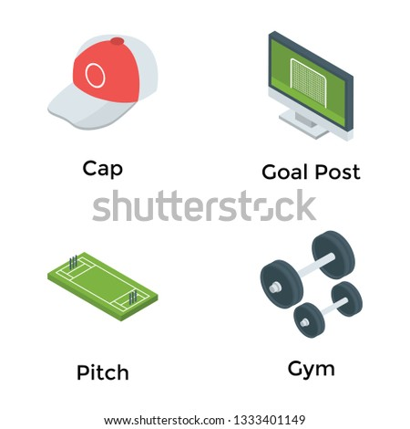 Game Equipment Icons