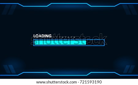 game loading on monitor