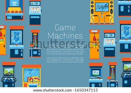 game machine vector