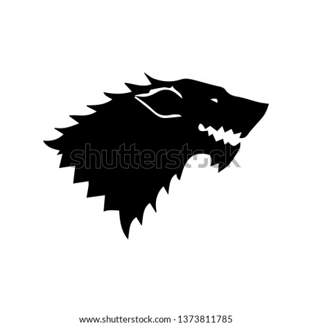 Game of Thrones House Stark style icon