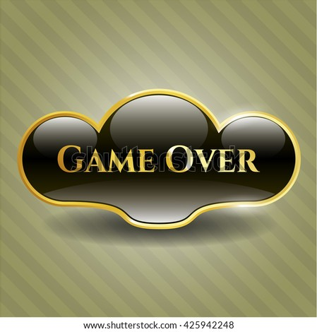Game Over gold badge