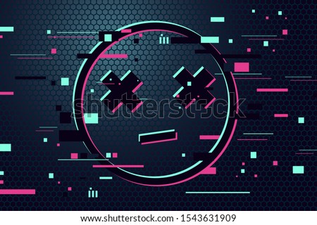 game over vector background
