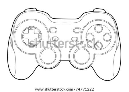 Game Controller Vector