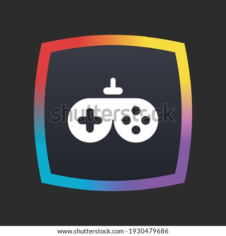 Game Pad - App Icon Button